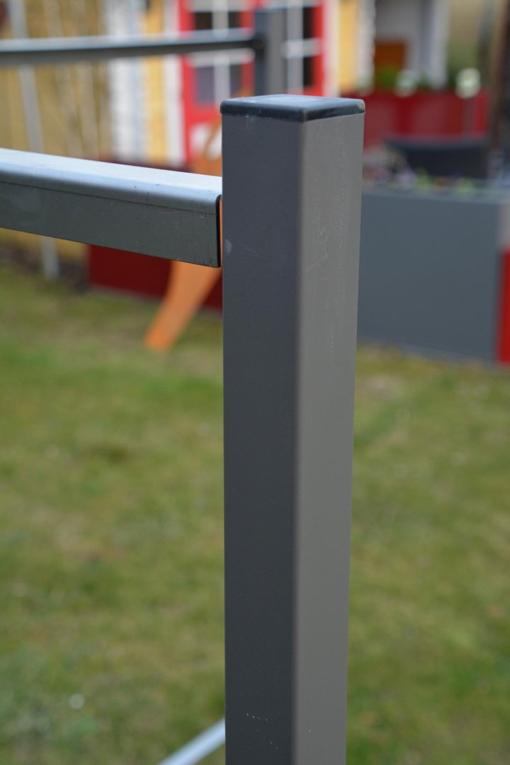end pfosten f r sichtschutz stele 100 cm hoch. Black Bedroom Furniture Sets. Home Design Ideas