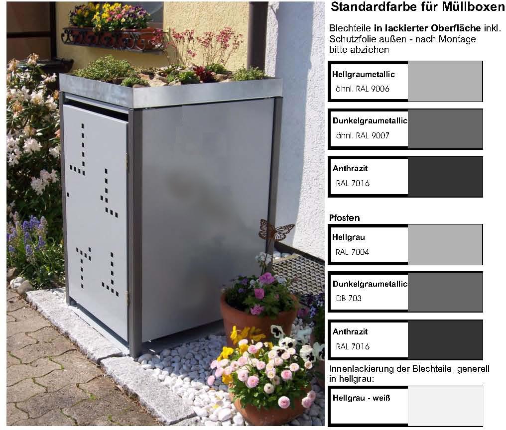 1 er m llbox 240 ltr kipp mb 240 1 k. Black Bedroom Furniture Sets. Home Design Ideas