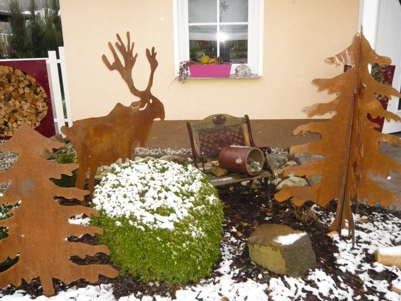 weihnachtsbaum 3 d mittelgro 1 15 m alles f r haus und garten aus metall. Black Bedroom Furniture Sets. Home Design Ideas