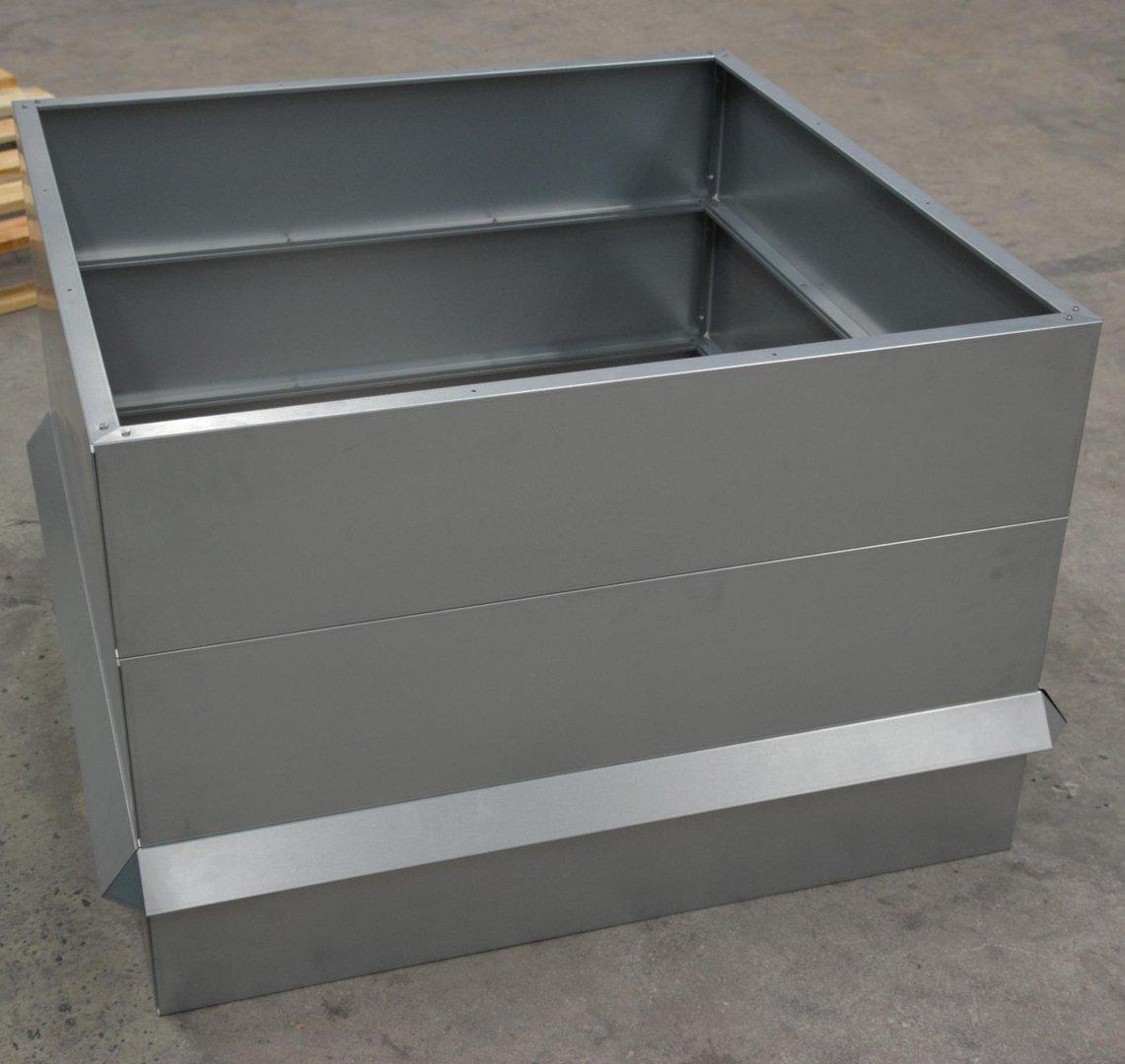 hochbeet metall mit schneckenzaun metall 1mx1m 68 cm hoch. Black Bedroom Furniture Sets. Home Design Ideas