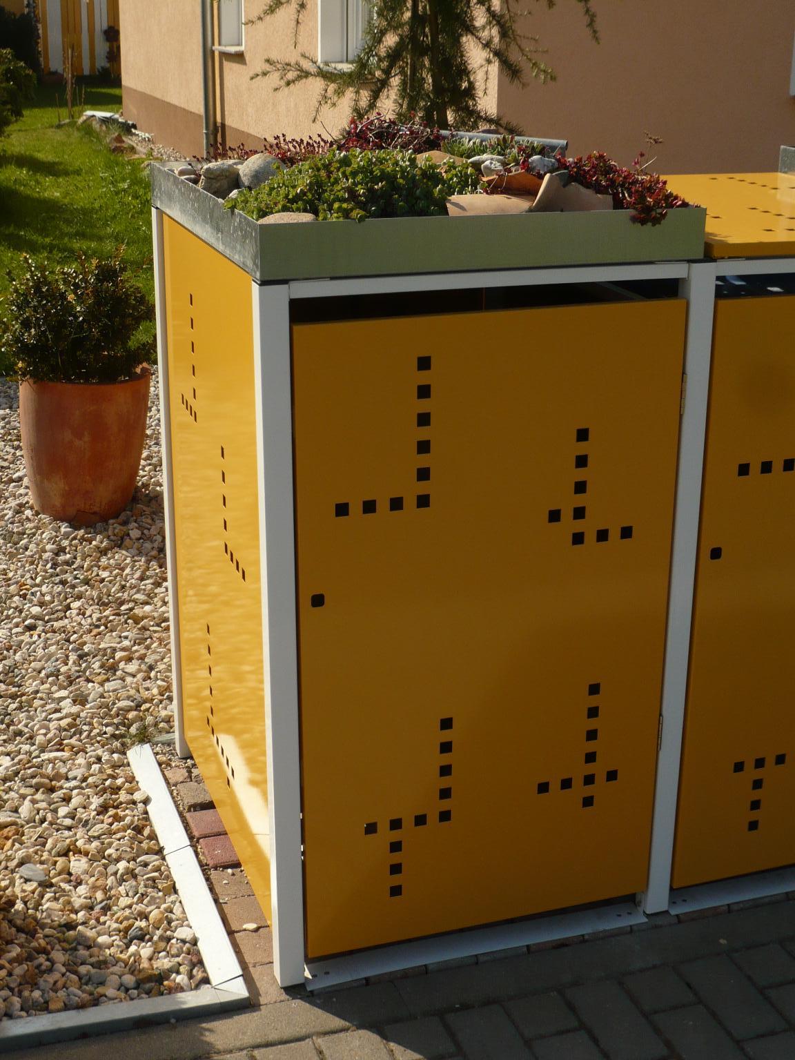2 er m llbox 120 ltr pflanzdach mb 120 2 pfd. Black Bedroom Furniture Sets. Home Design Ideas