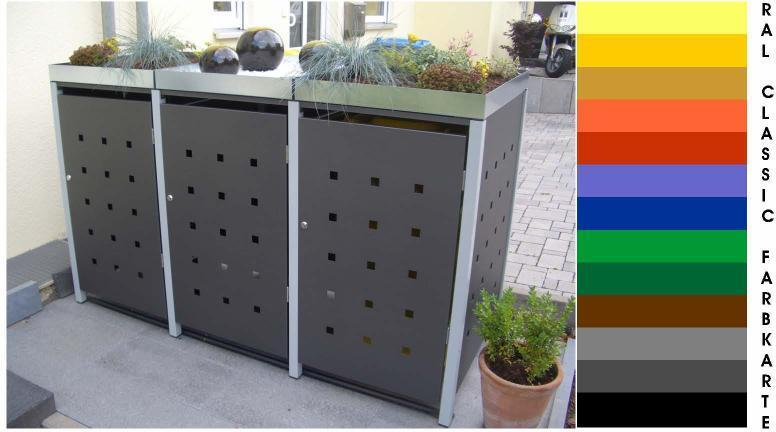 3 er m llbox 120 ltr kipp mb 120 3 k. Black Bedroom Furniture Sets. Home Design Ideas
