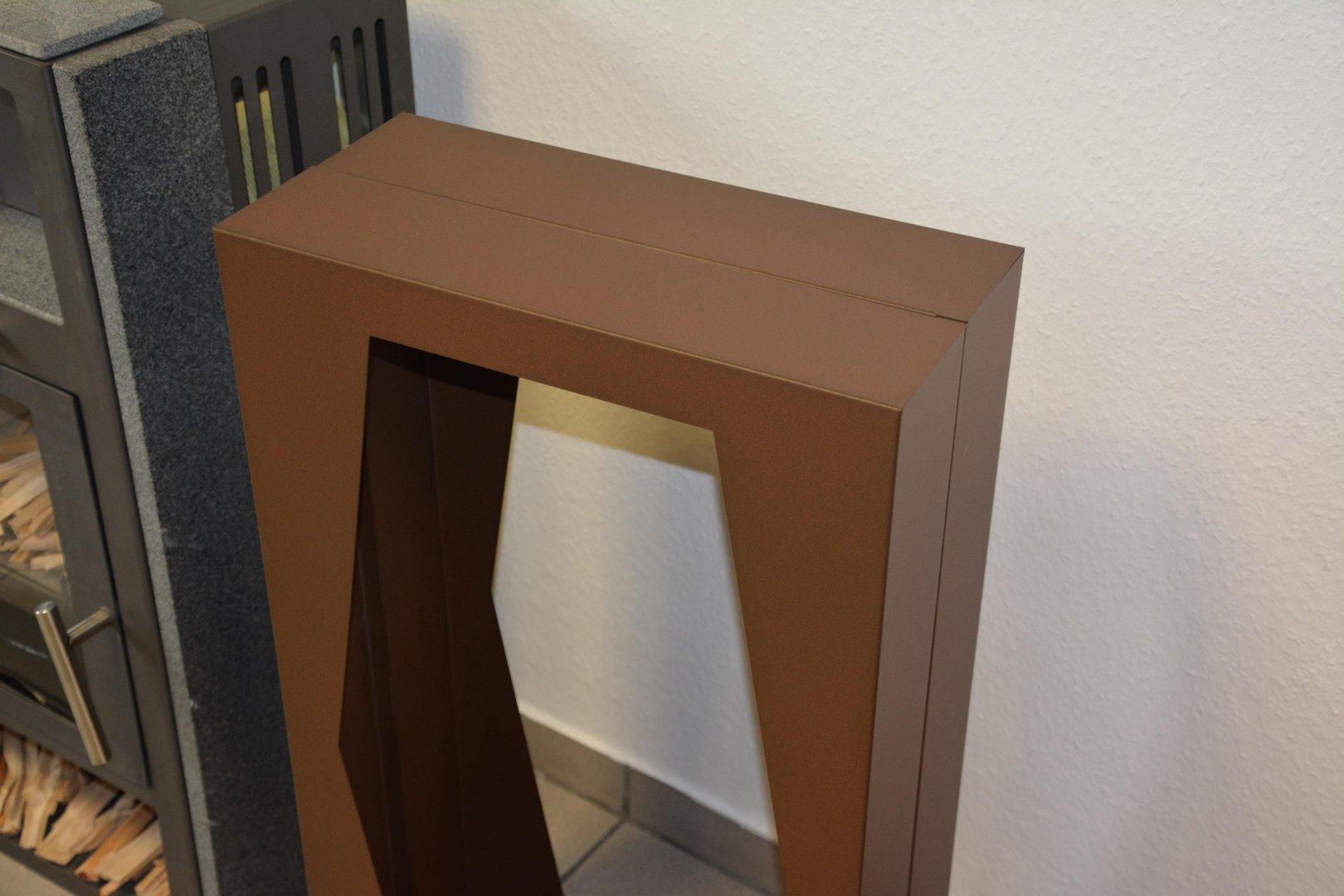 kaminholzregal raute innenbereich regal aus metall. Black Bedroom Furniture Sets. Home Design Ideas