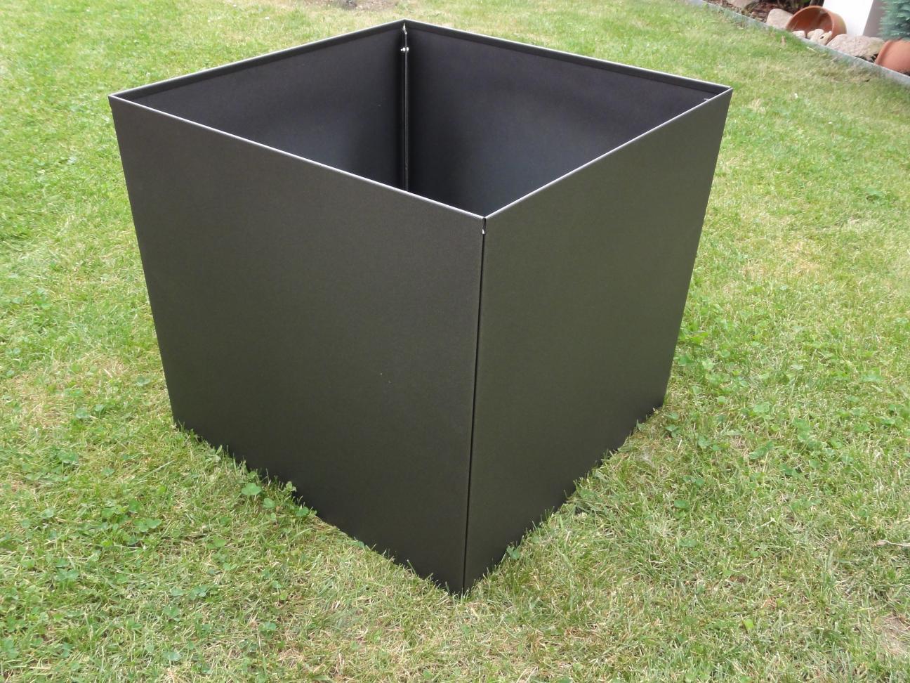 pflanzkasten blumenkasten 60 x 60 x 45 cm farbe nach farbkarte. Black Bedroom Furniture Sets. Home Design Ideas
