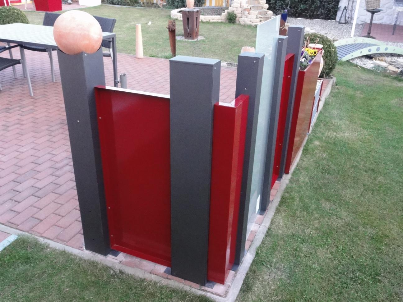 eckblech modular ohne stanzbild 175 x 10 x 20 cm alles f r haus und garten aus metall. Black Bedroom Furniture Sets. Home Design Ideas