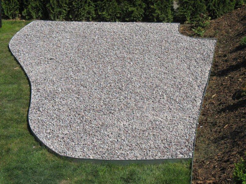 rasenkanten metall 118 cm x 17 5 cm x 0 95 mm im 7 er set und 8 25m l nge. Black Bedroom Furniture Sets. Home Design Ideas