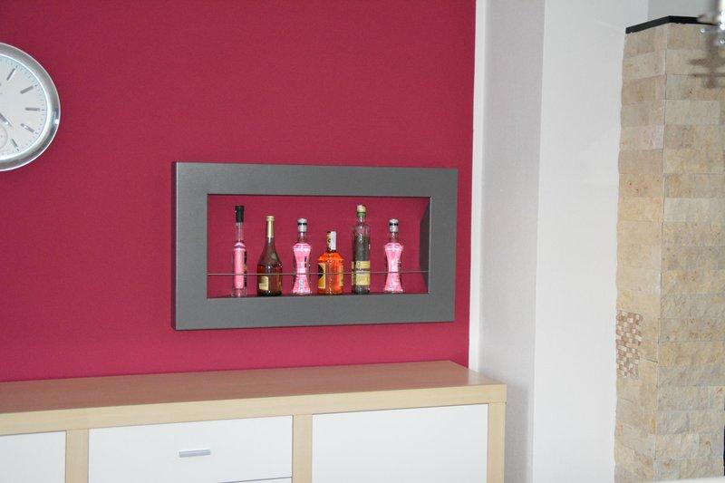 wandregal bar regal farbe nach farbkarte. Black Bedroom Furniture Sets. Home Design Ideas