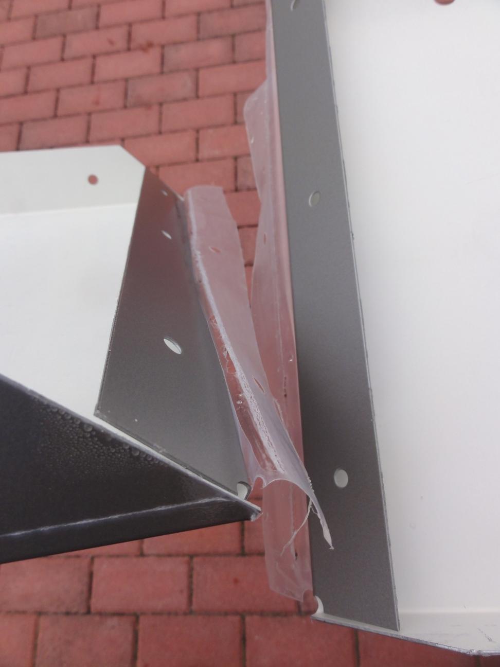 kaminholzregal metall 1 7m x 1 0 m x 0 35 m oberfl che lackiert. Black Bedroom Furniture Sets. Home Design Ideas