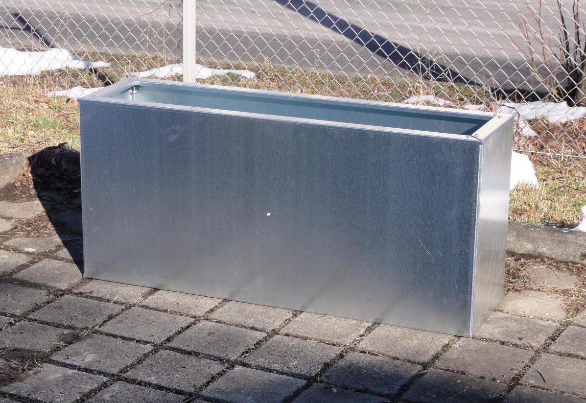 hochbeet urban metall 0 75 x 0 75 m h he 0 7 m verzinkt. Black Bedroom Furniture Sets. Home Design Ideas