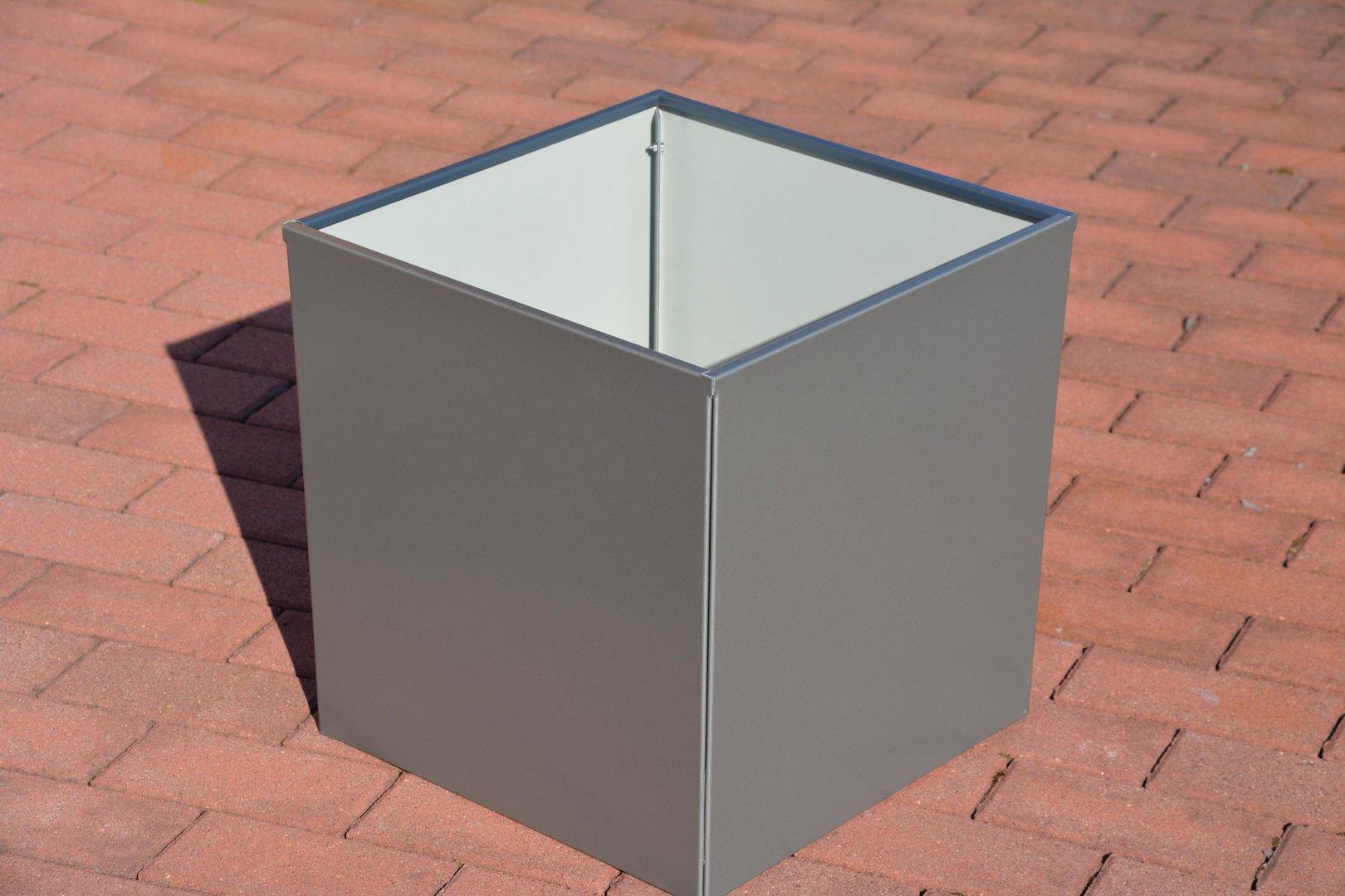 pflanztopf bertopf 60 x 60 x 45 cm lackiert. Black Bedroom Furniture Sets. Home Design Ideas