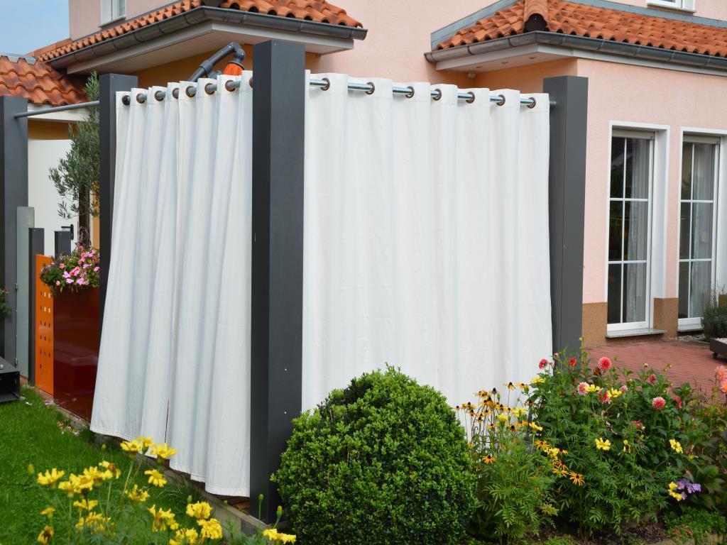 sichtschutz ecks ule 2 2m x 0 2m x 0 2m lackiert. Black Bedroom Furniture Sets. Home Design Ideas