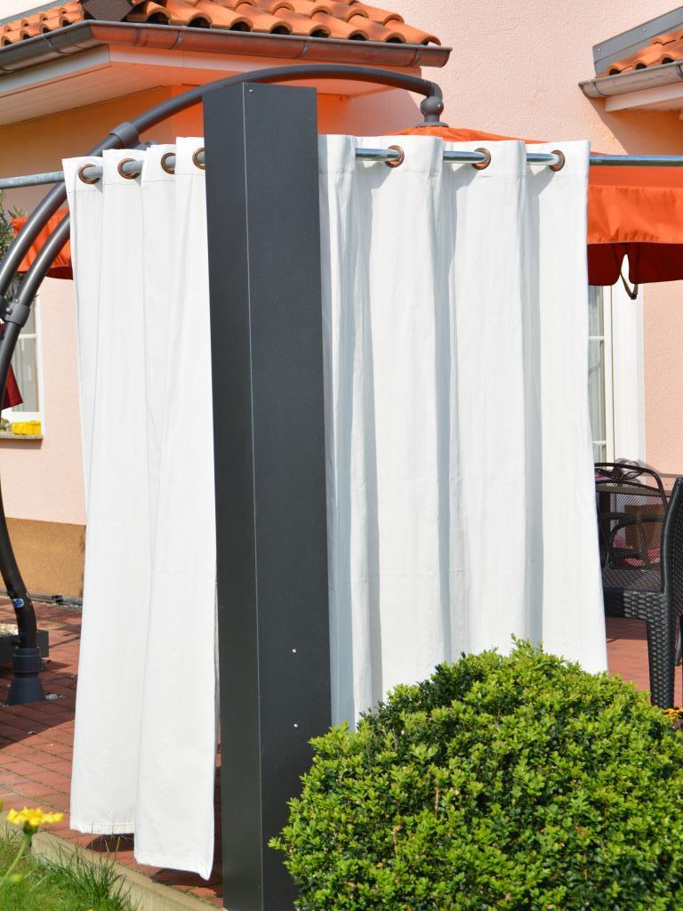 sichtschutz ecks ule 2 2 m x 0 2 x 0 2 m pulverbeschichtet nach unserer farbkarte. Black Bedroom Furniture Sets. Home Design Ideas