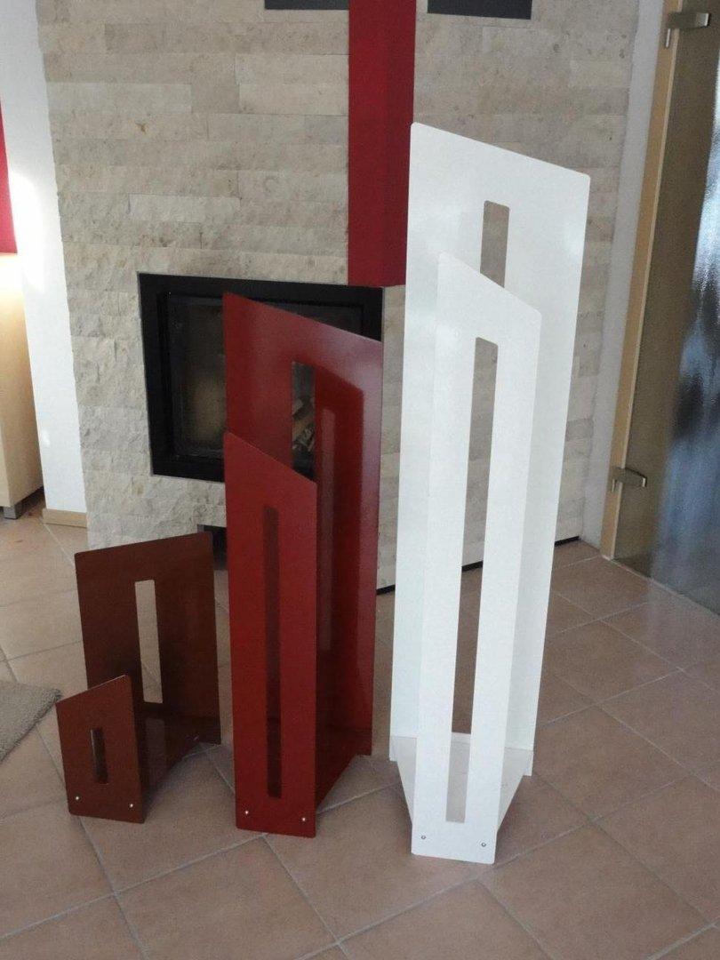 wunsch farbauswahl f r kaminholzregal innen alles f r haus und garten aus metall. Black Bedroom Furniture Sets. Home Design Ideas