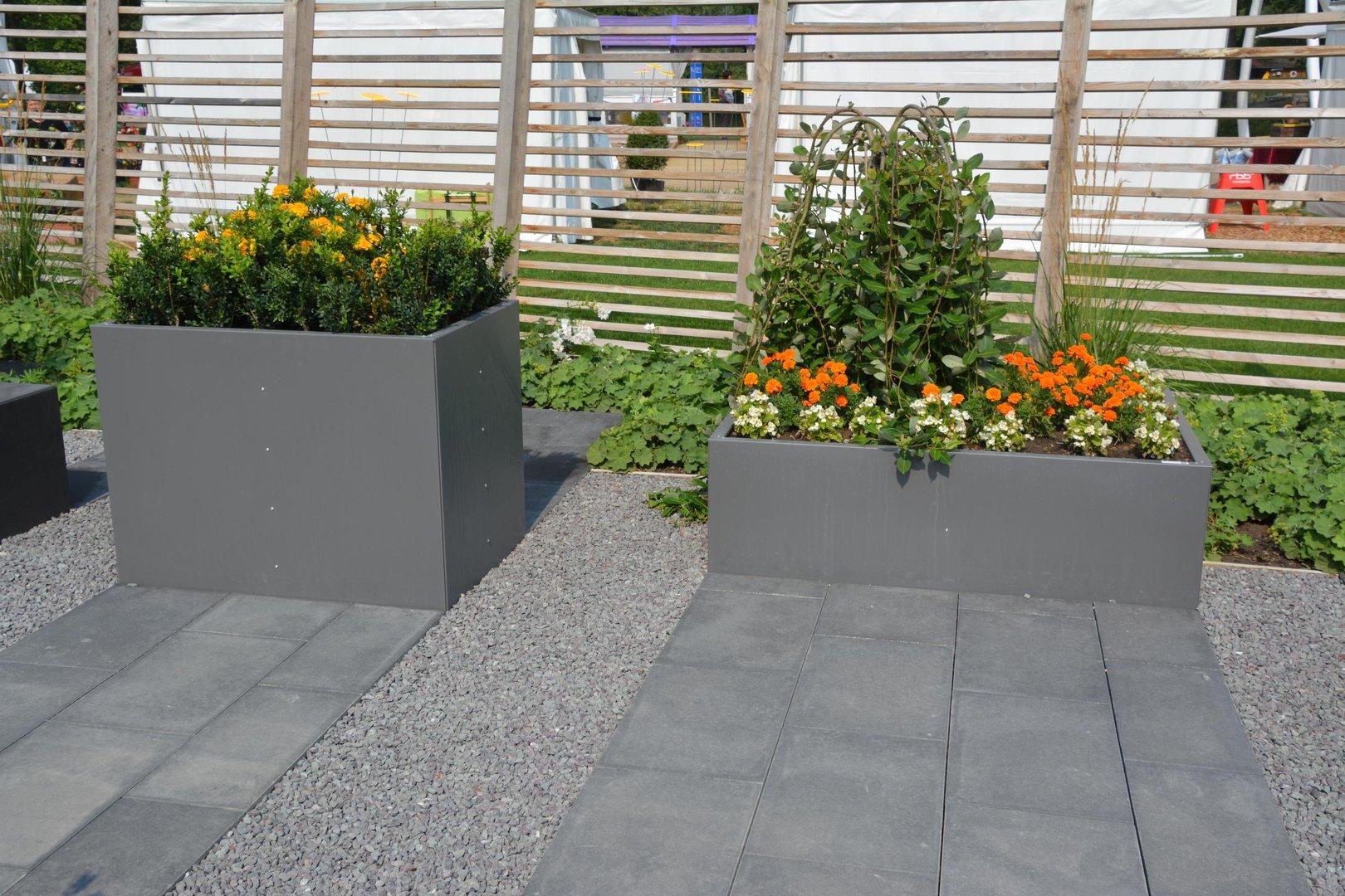 hochbeet urban metall 0 3 x 0 3 m h he 0 5 m beschichtet. Black Bedroom Furniture Sets. Home Design Ideas