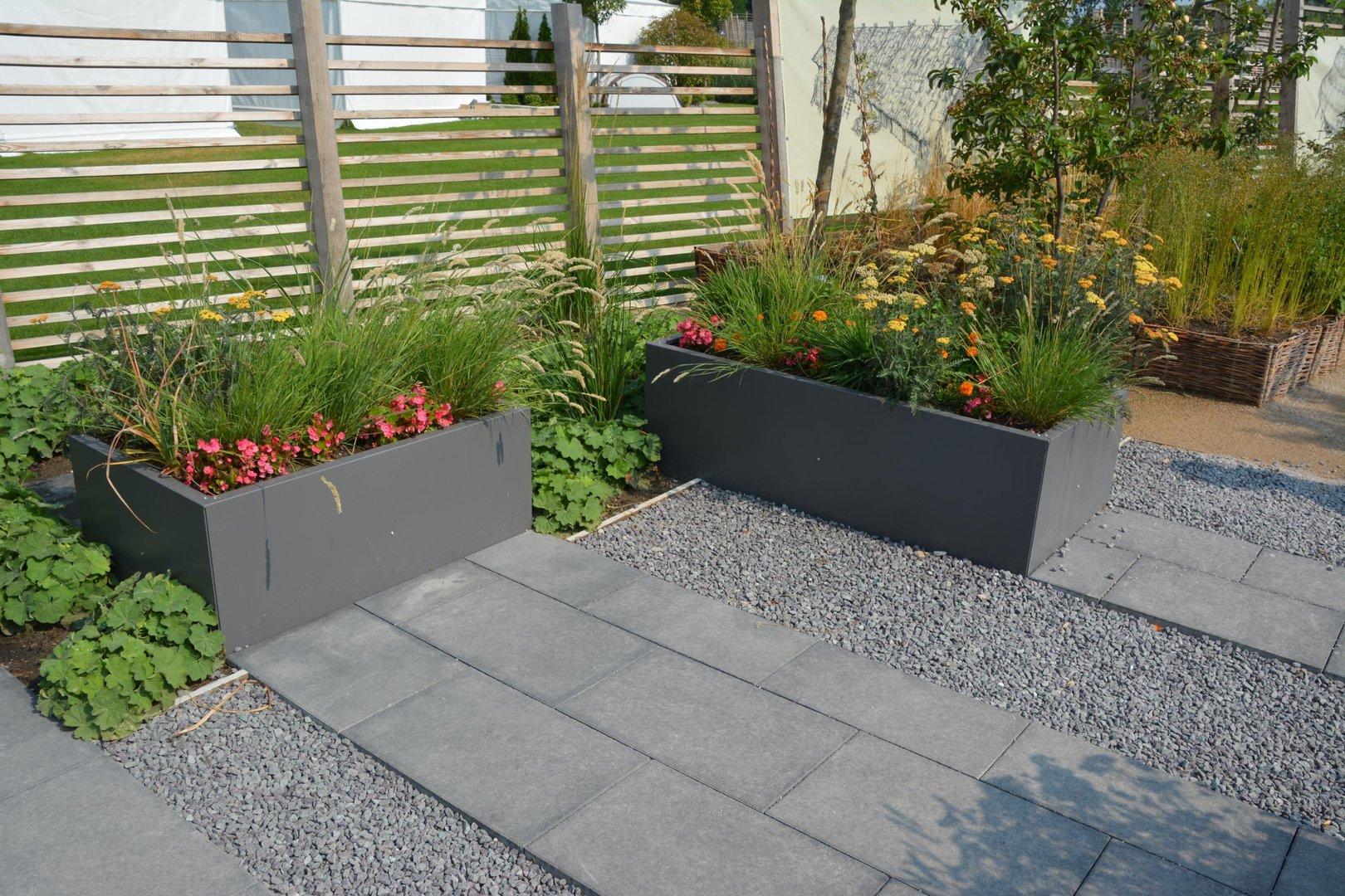 Hochbeet urban aus metall 1 1 m x 0 55 m x 0 5 m beschichtet for Gartengestaltung urban
