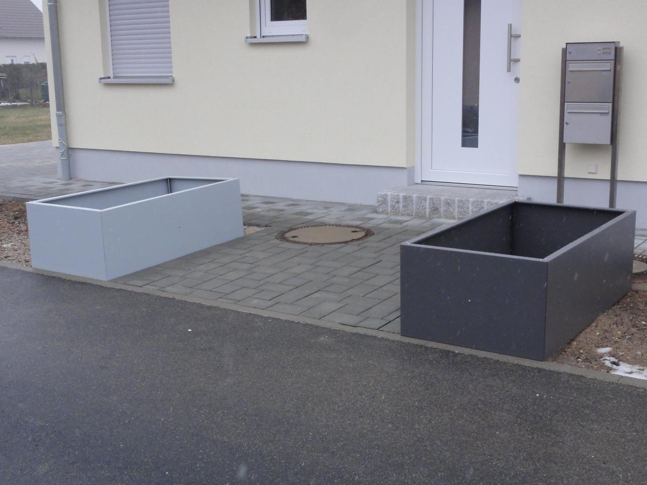 hochbeet urban aus metall 1 5 m x 0 55 m x 0 5 m beschichtet. Black Bedroom Furniture Sets. Home Design Ideas