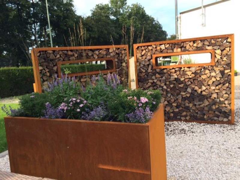 Hochbeet urban aus metall 1 5 m x 1 1 m x 0 7 m edelrost for Gartengestaltung metall rost