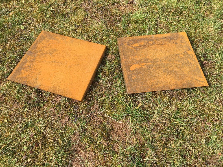 Erweiterungsset Hochbeet Corten 0 9 M Hohe 2 Seitenteile