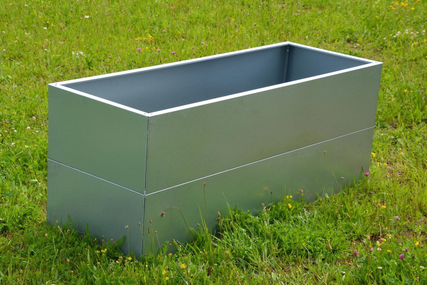 Hochbeet Urban Gardening Metall 0 55 M X 1 1 M X 0 6 M Hoch Verzinkt