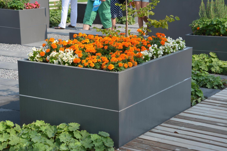 Hochbeet Urban Gardening Metall 1 1 M X 1 1 M X 0 3 M Hoch Nach