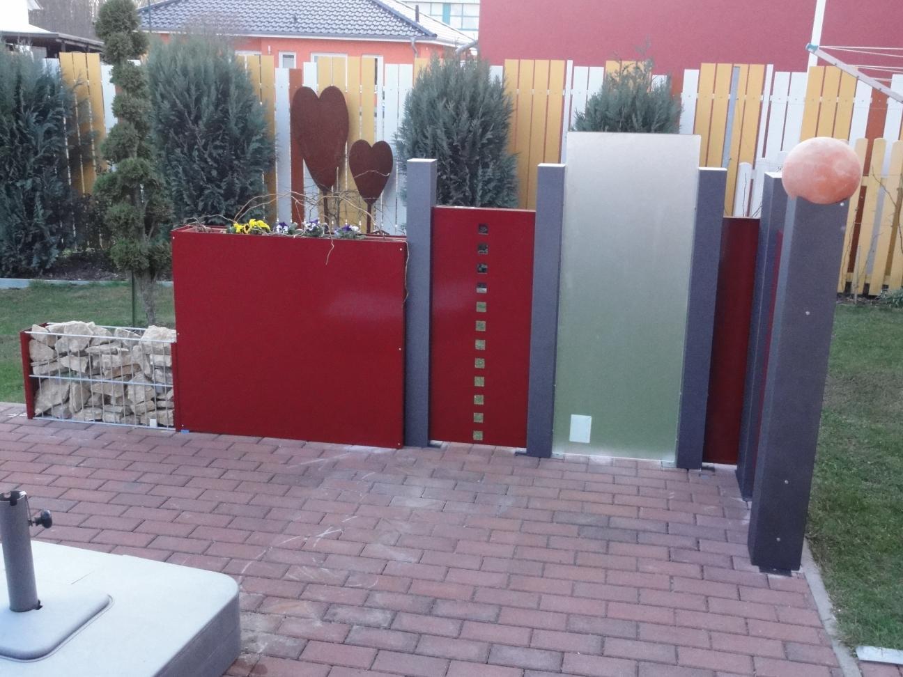 soloblech modular dekorstanzung 155 x 42 cm alles f r haus und garten aus metall. Black Bedroom Furniture Sets. Home Design Ideas