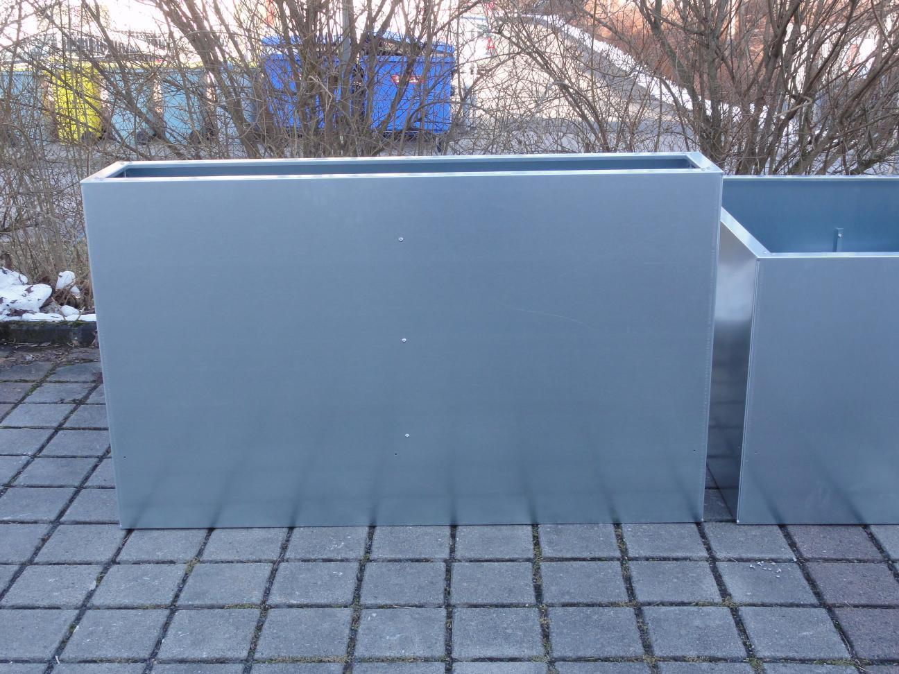 Hochbeet Urban Metall 1 1m X 1 1 M Hohe 0 7 M Verzinkt