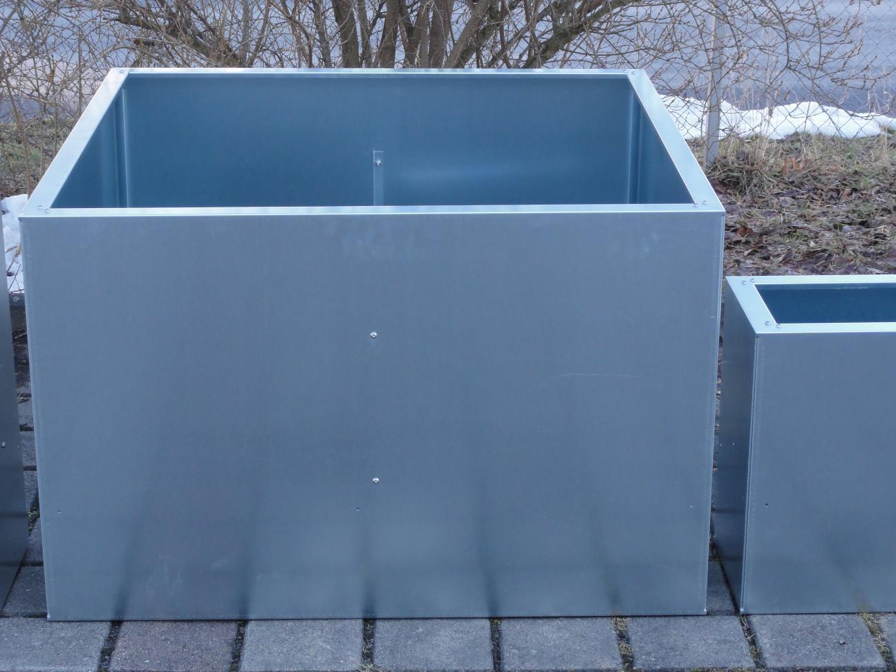 Hochbeet Urban Metall 0 3 M X 0 75 M Hohe 0 5 M Verzinkt