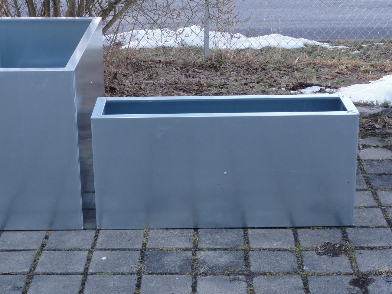 Urban Metall 1,5 m x 1,5 m Höhe 0,7 m - verzinkt