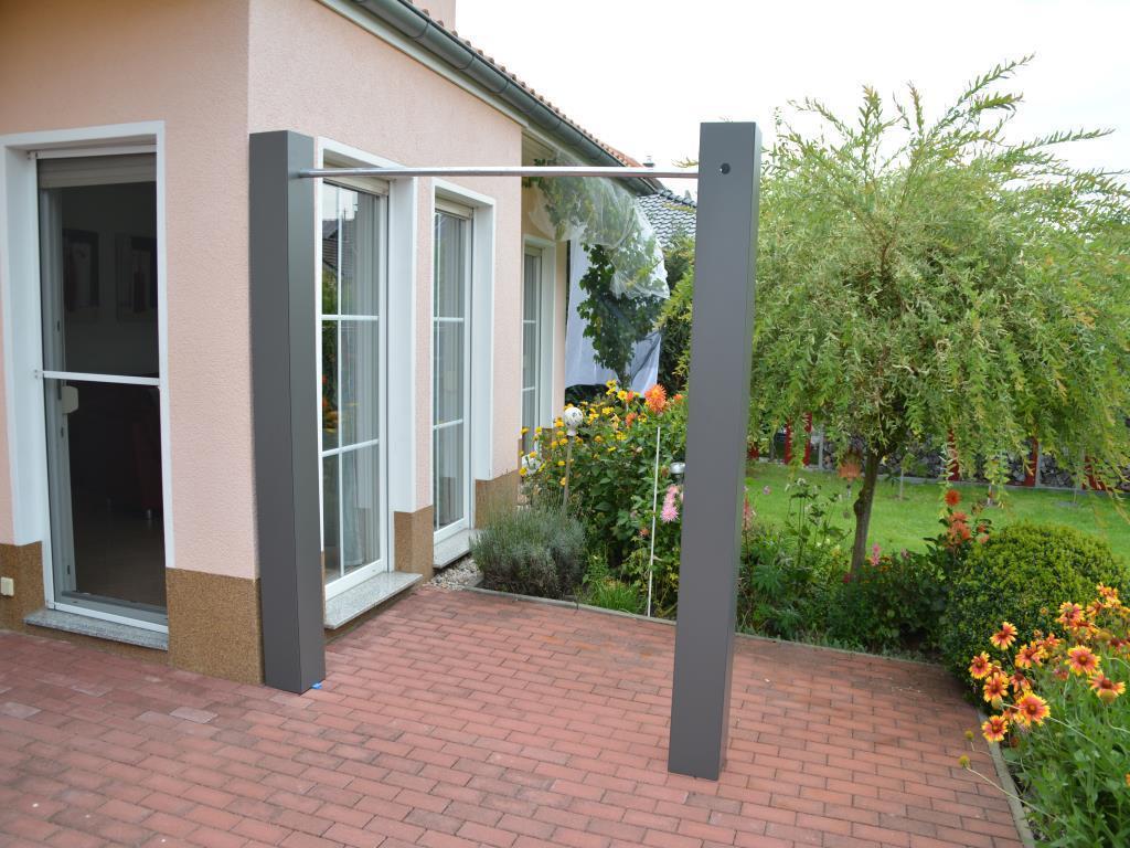 sichtschutz verbindungsstange 2 2 m. Black Bedroom Furniture Sets. Home Design Ideas