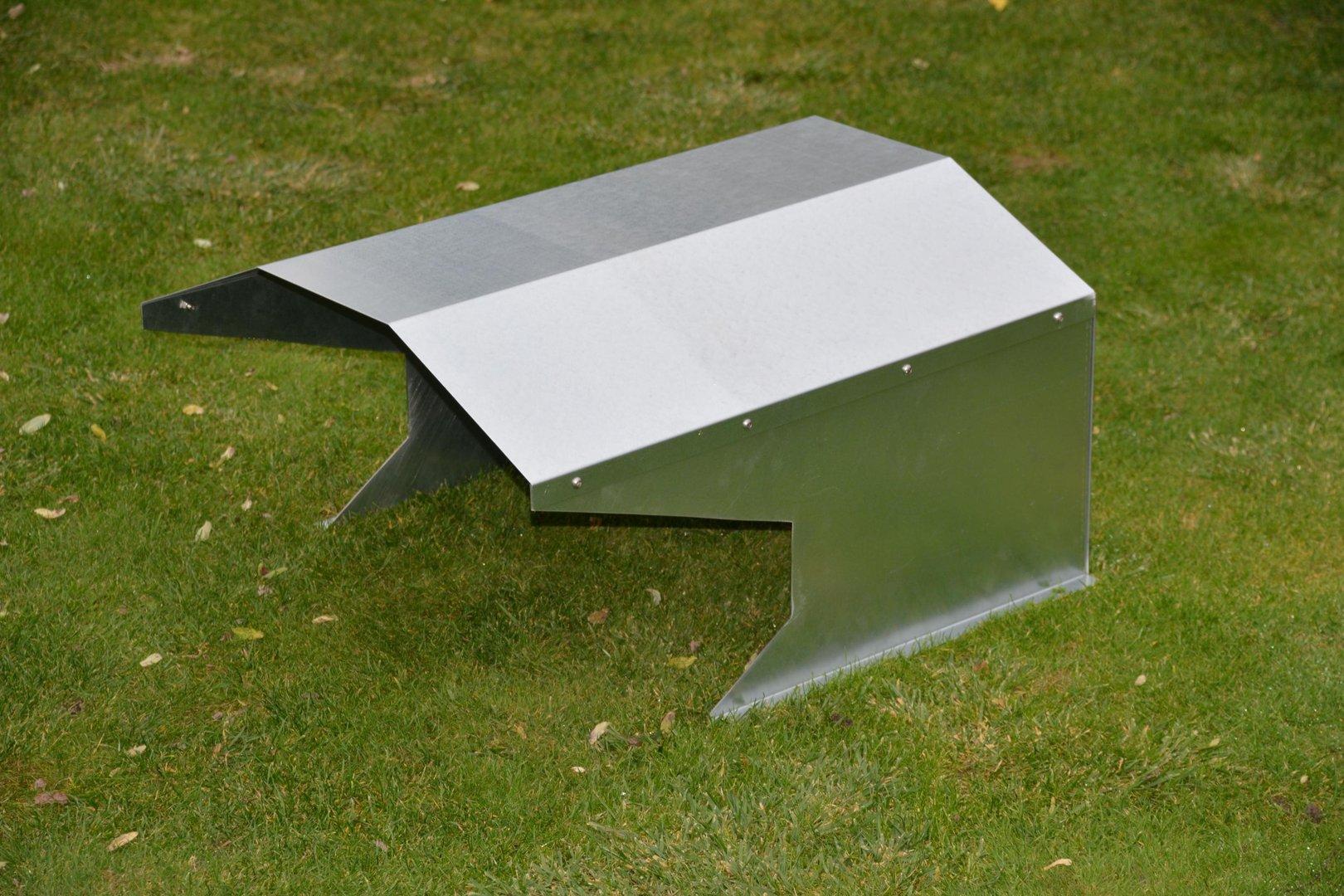 m hroboter garage hausdach verzinkt alles f r haus und garten aus metall. Black Bedroom Furniture Sets. Home Design Ideas
