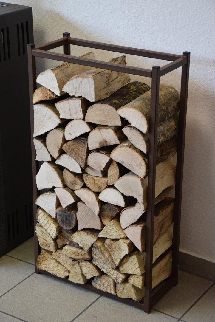 kaminholzregal innen stab 900x500 aus metall. Black Bedroom Furniture Sets. Home Design Ideas