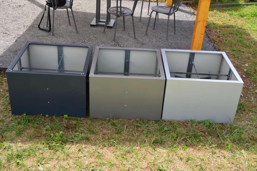 Hochbeet Urban Metall 0 3 X 1 5 M Hohe 0 5 M Lackiert