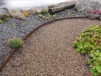 Rasenkanten Cortenstahl Eckverbindung 90 Grad