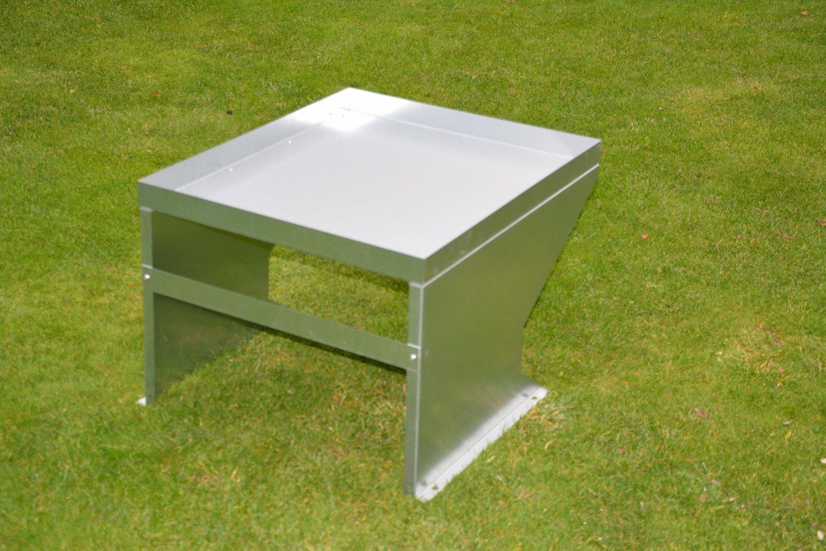 verbindungsblech f r m hroboter garage verzinkt aus metall. Black Bedroom Furniture Sets. Home Design Ideas