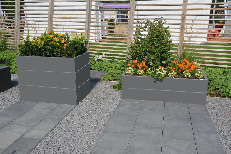 hochbeet urban gardening aus metall f r jeden garten. Black Bedroom Furniture Sets. Home Design Ideas