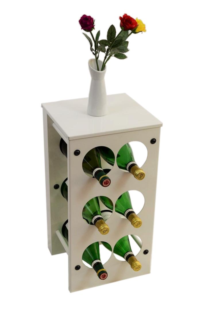 weinregal flaschenregal vino aus metall h he 52 cm. Black Bedroom Furniture Sets. Home Design Ideas